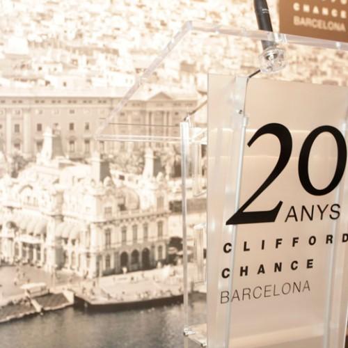 CLIFFORD CHANCE BCN- 20th ANNIVERSARY